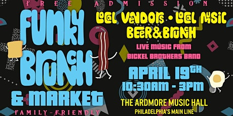 Funky Brunch & Market: Local Vendors, Live Music, Beer, & Brunch tickets