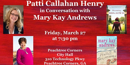 Conversation and Cocktails with Patti Callahan Henry and Mary Kay Andrews
