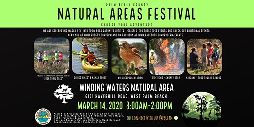Natural Areas Festival - Guided Kayak Tour (8:00 am)