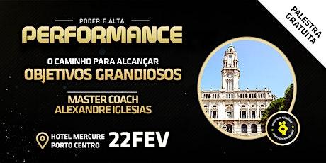 Palestra PODER E ALTA PERFORMANCE | Pessoal e Profissional tickets