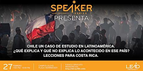 Speaker Series - Chile un Caso de Estudio para Latinoamérica entradas