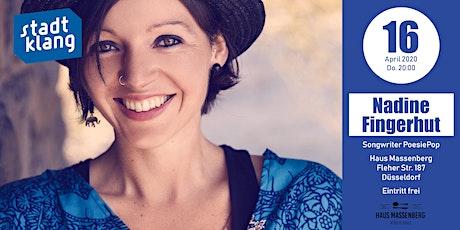 «stadtklang» mit Nadine Fingerhut // live im Haus Massenberg Tickets