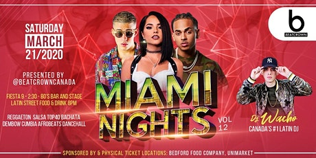 MIAMI NIGHTS vol. 12 tickets