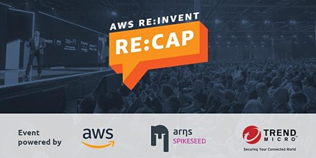 AWS RE:INVENT - RE:CAP tickets