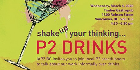 P2 Drinks - Vancouver tickets