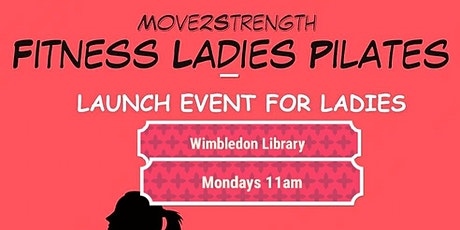 MOVE2STRENGTH Ladies Fitness Pilates tickets
