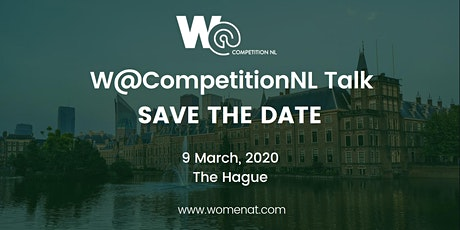 """W@CompetitionNL Talk  """"Towards Green Competition, Deal or No Deal?"""" tickets"""