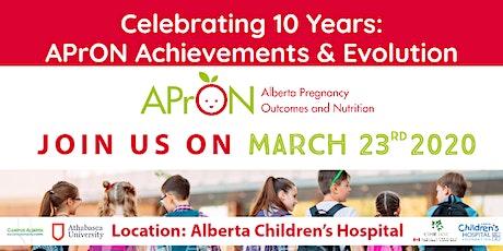 Celebrating 10 Years: APrON Achievements & Evolution tickets
