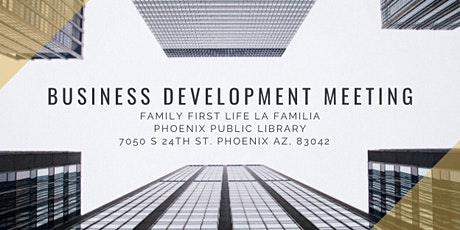 Family First Life Business Development meeting tickets