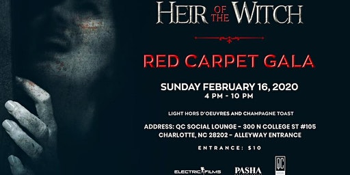 "Red Carpet  Gala for the filming of "" Heir Of The Witch"""