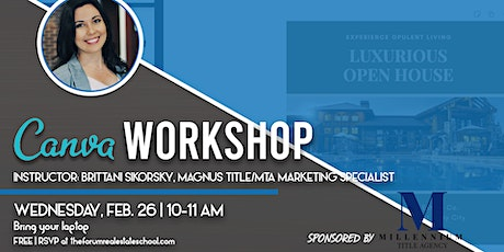 Canva Workshop tickets