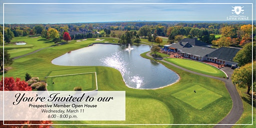 Open House- Golf Club at Little Turtle