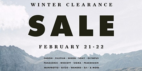 Winter Clearance Sale tickets