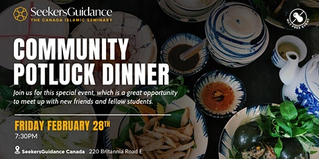 Community Potluck Dinner tickets