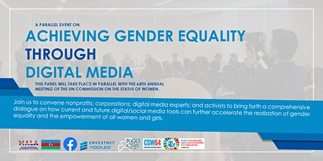 CSW 2020 | The Power of Digital Media and Achieving Gender Equality tickets