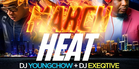 MARCH HEAT at Jimmy's w| DJ YOUNG CHOW + DJ EXEQTIVE & HENNY OPEN BAR tickets