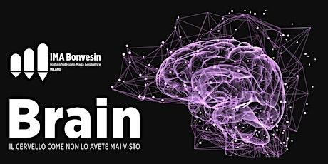 BRAIN – Il cervello come non lo avete mai visto biglietti