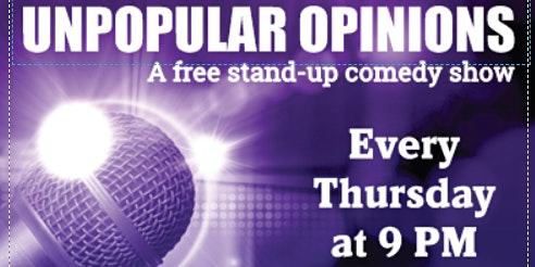 Unpopular Opinions: A Free Stand-up Comedy Show on West 14th St.