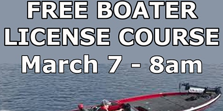FREE Boating License Course tickets