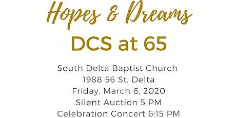 Hopes and Dreams: DCS at 65 tickets