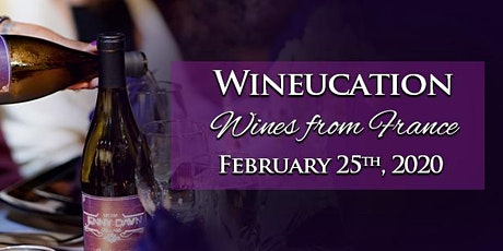 February Wineucation: Wines of France tickets