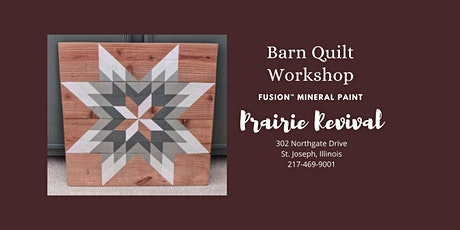 Fusion™ Mineral Paint - Barn Quilt Workshop tickets