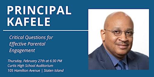 Principal Kafele - Critical Questions for Effectiv