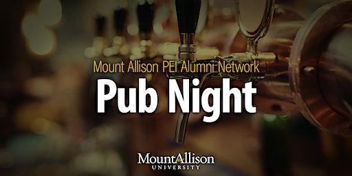 Mount Allison PEI Alumni Pub Night