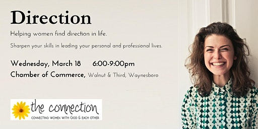 Direction workshop - Helping women find direction in life!