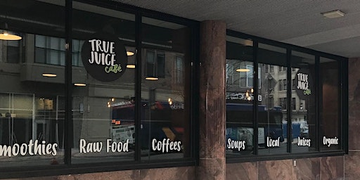 True Juice Cafe's Grand Opening at the New York BizLab