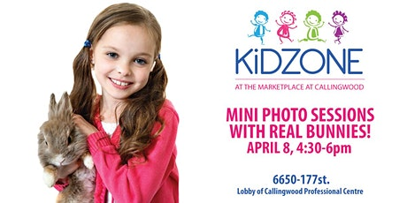 Kids Mini Photo Sessions with Bunnies tickets