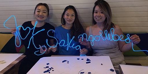 Adult Craft Night: DIY Neon Sign