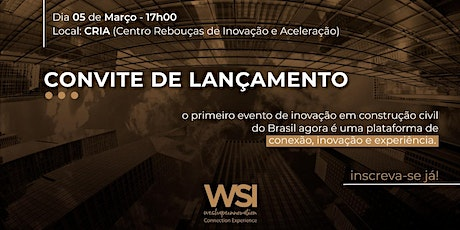 Lançamento WSI - Connection Experience tickets