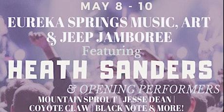 Eureka Springs Music, Art & Jeep Jamboree tickets