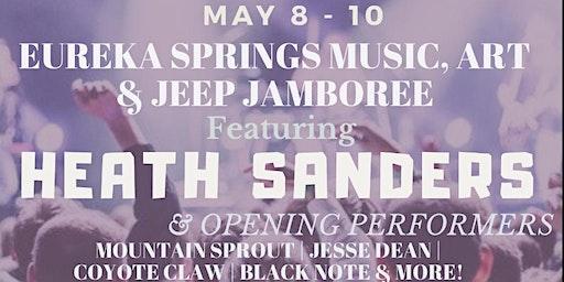 Eureka Springs Music, Art & Jeep Jamboree