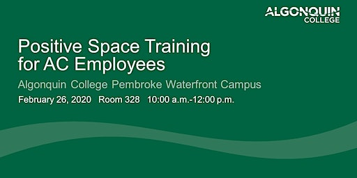 Positive Space Training for AC Employees