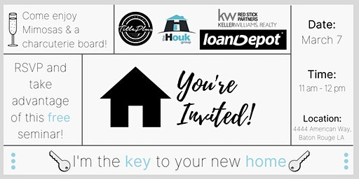 Home Buyer's Seminar - I'm the Key to Your New Home!
