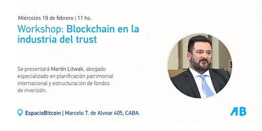 Workshop: Blockchain en la Industria del Trust
