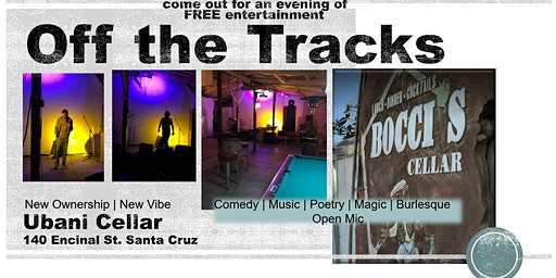 Comedy & Variety Show at the NEW Bocci's Cellar