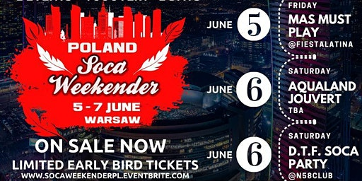 Poland Soca Weekender