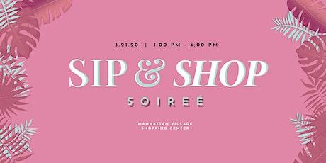 Sip & Shop Soirée tickets