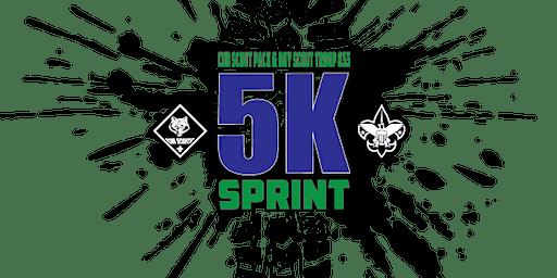 Cub Scout Pack & Boy Scout Troop 833 5K Sprint