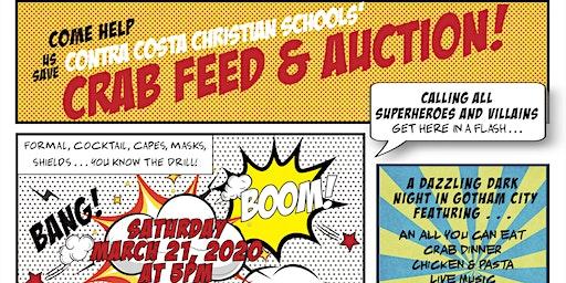 Superhero & Villain Crab Feed and Auction