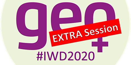 Women in Geospatial - IWD2020 Extra session tickets