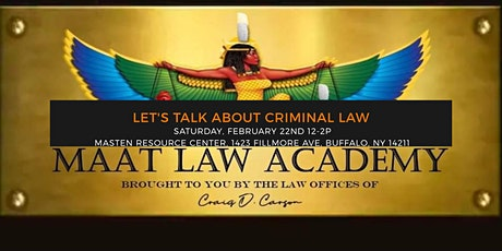 Ma'at Law Academy tickets