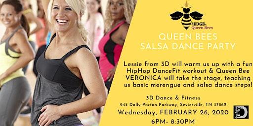 QUEEN BEES SALSA DANCE PARTY