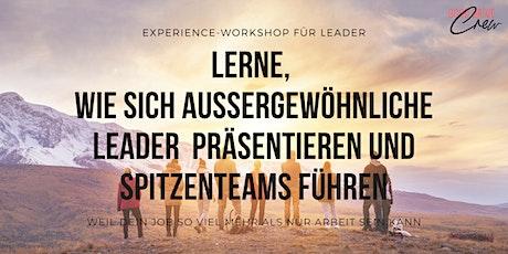 Das Geheimnis, wie sich außergewöhnliche Leader präsentieren und Spitzenteams führen - Wien Tickets