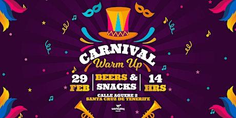 Carnival Warm Up entradas