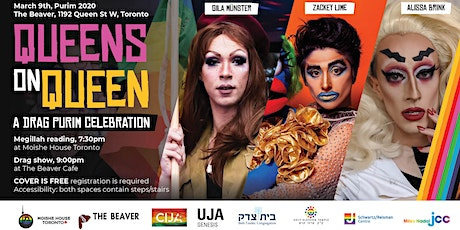Queens on Queen: a Drag Purim Celebration tickets