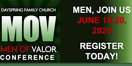 Men of Valor Conference & Prayer Breakfast tickets